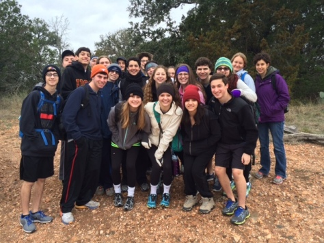 Students from Emery Weiner School in Houston enjoying a winter hike. (Courtesy of Billy Hutson)