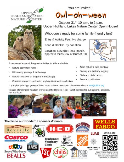 UHLNC flyer Oct 18